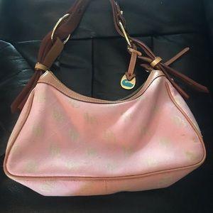 Dooney and Bourke vintage hobo small pink bag